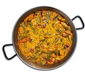 paella auténtica española